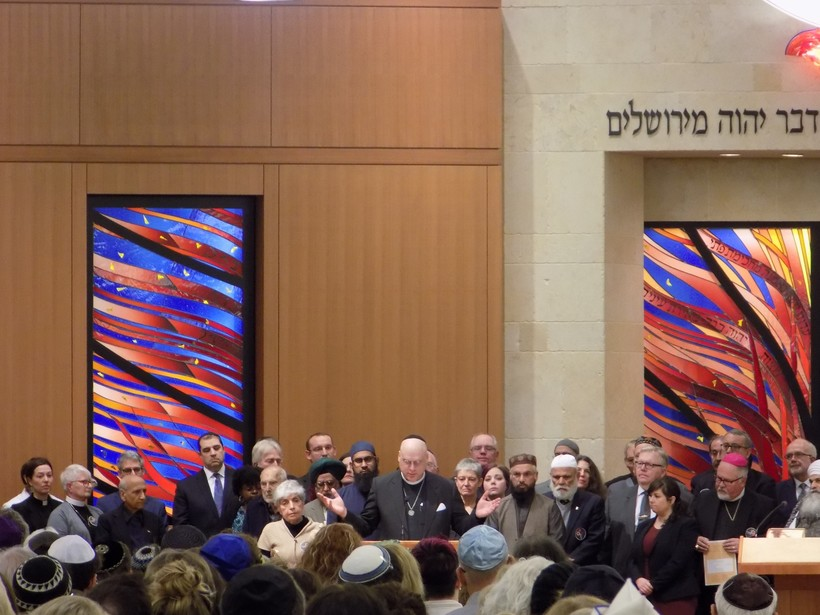 Leaders of various faith group honor the 11 worshipperskilled in Pittsburgh