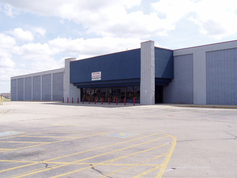 Empty big box store