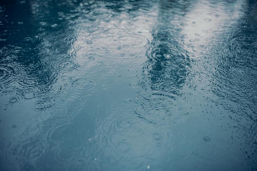 rain, storms, puddle, storm
