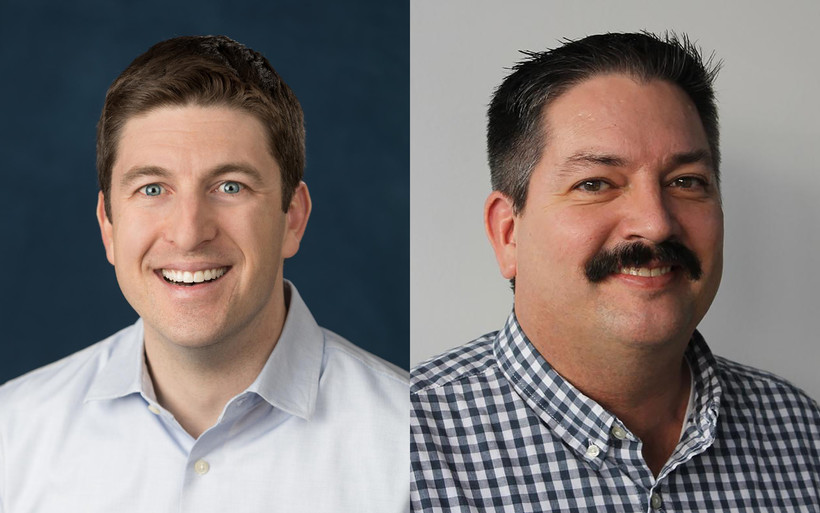 Bryan Steil and Randy Bryce
