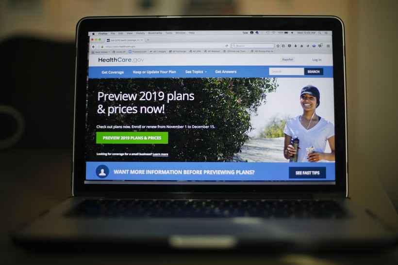 2019 HealthCare.gov website