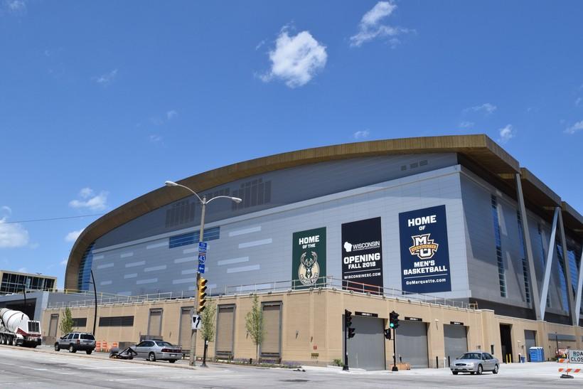 Milwaukee Bucks Arena, Downtown Milwaukee