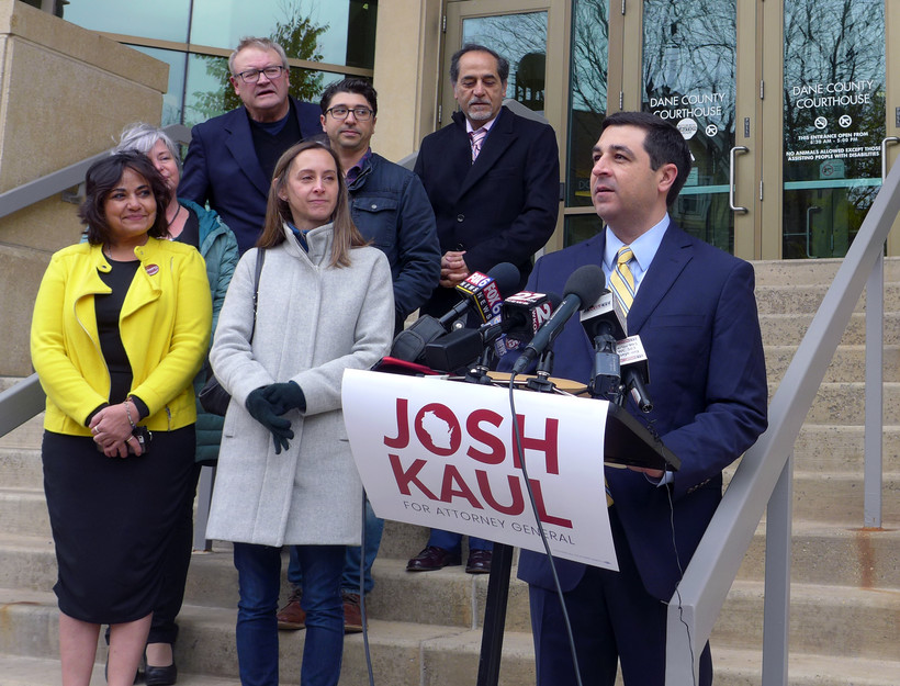 Josh Kaul speaking