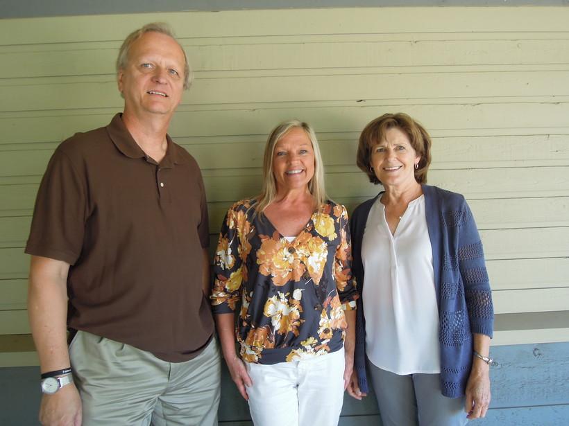 Dean Kallenbach Sue Devine and Barb Van Doorn