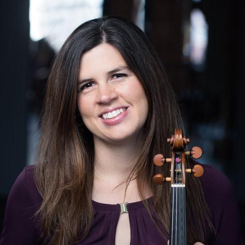 Violinist Brandi Berry Benson