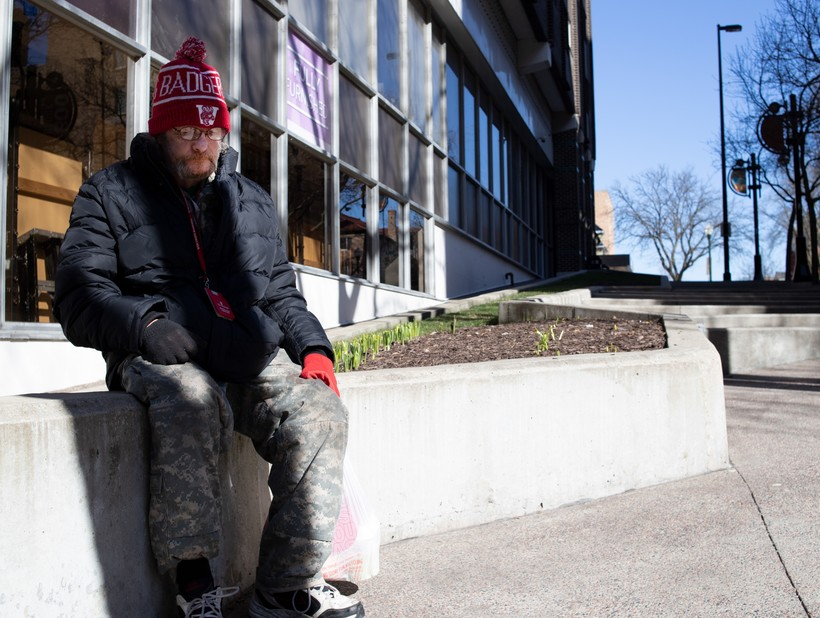 Chase Davis says he's known a number of friends who have died while experiencing homelessness