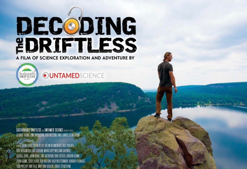 Decoding the Driftless promotional poster