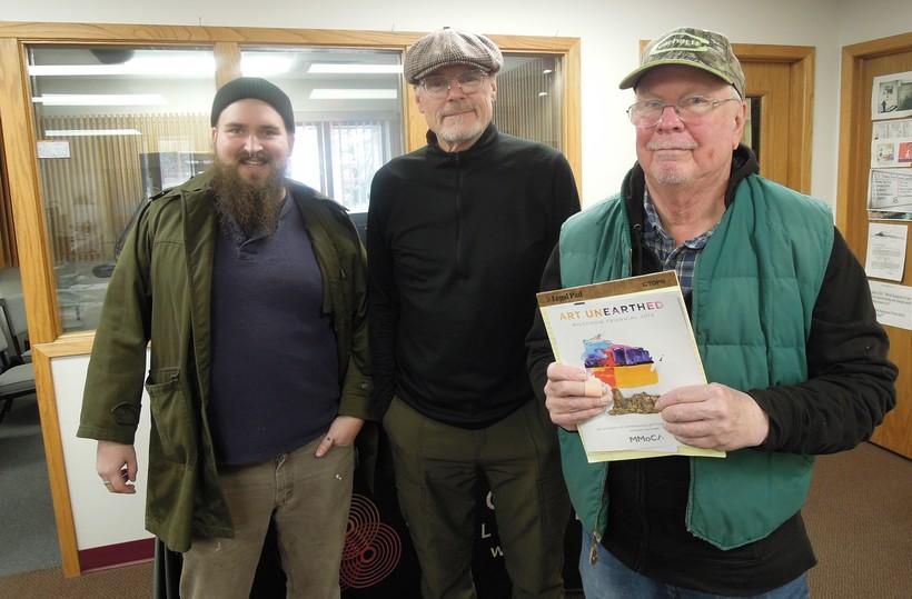 Ed Erdmann, Al Ross and Anders Shafer