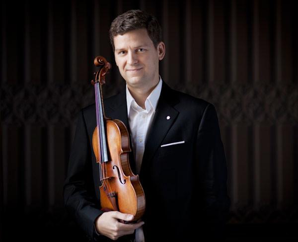 Photo of Violinist James Ehnes