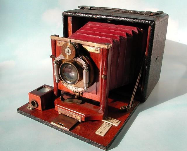 Large format camera circa 1893-1900