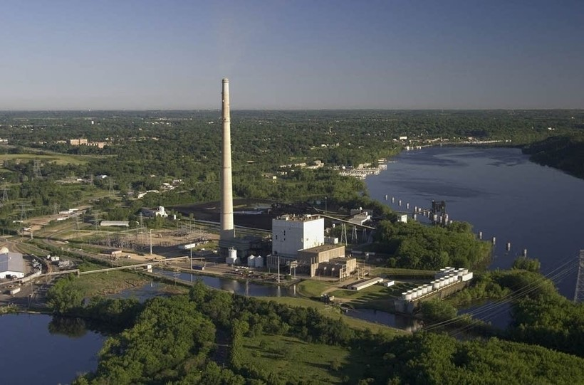 Allen S. King coal-fired power plant in Bayport, Minnesota