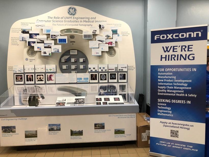 """Foxconn Day"" at the University of Wisconsin-Milwaukee"