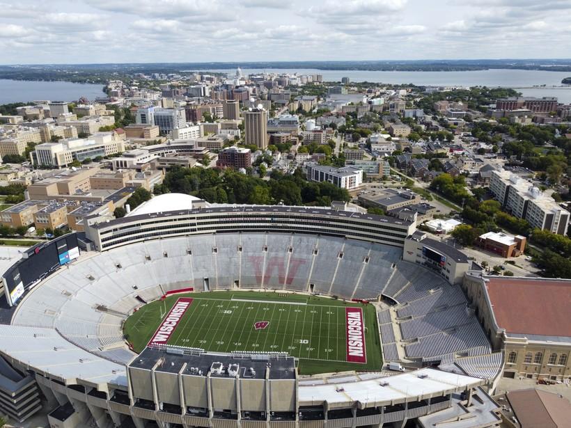 Camp Randall Stadium in Madison