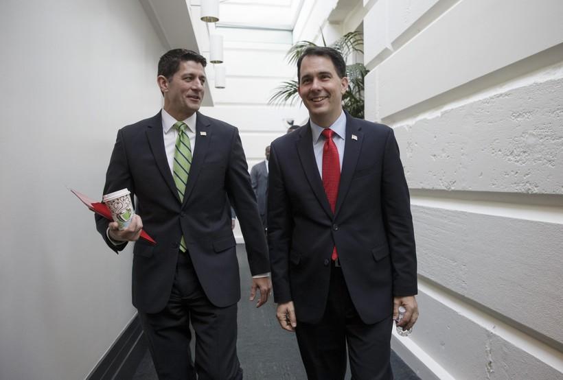 Paul Ryan, Scott Walker, 2016