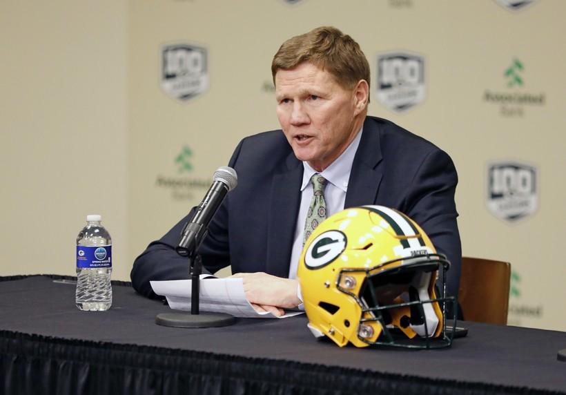 Green Bay Packers' team president Mark Murphy