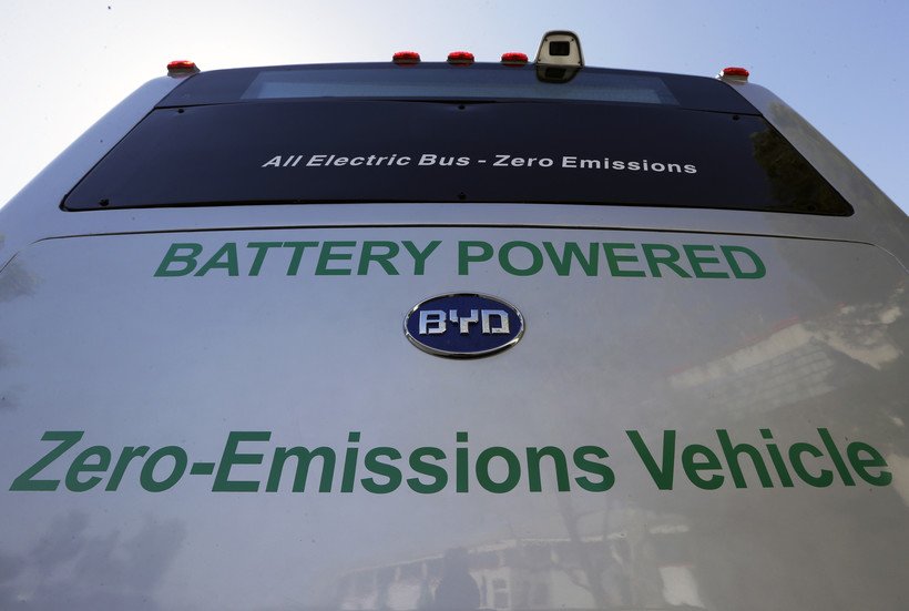 An All Electric Bus