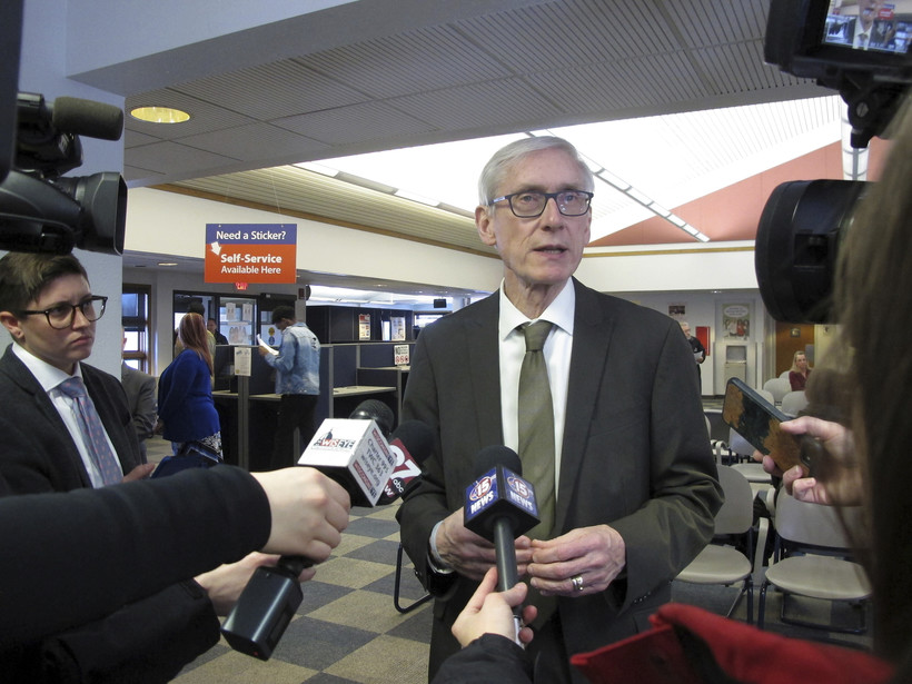 Tony Evers, March 2019