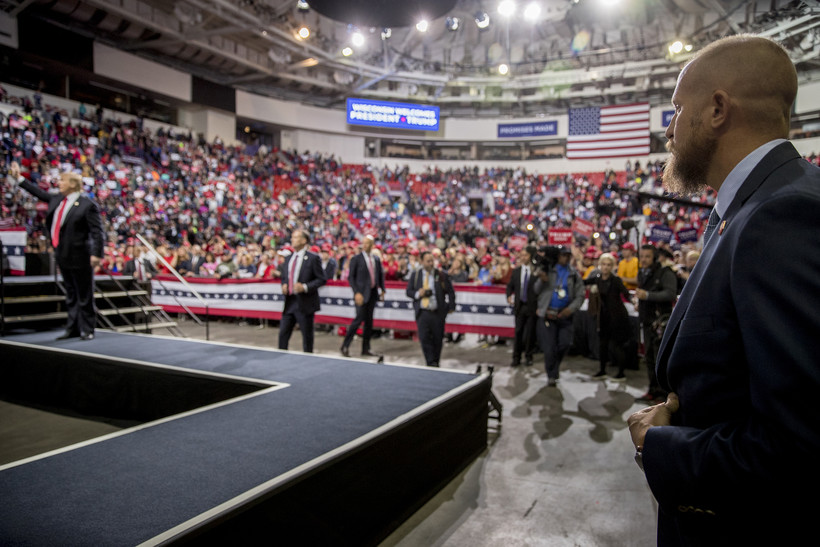 Trump reelection campaign rally