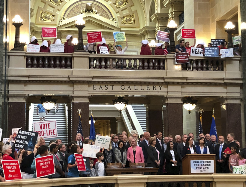 Republicans to call on Democratic Gov. Tony Evers to sign four abortion bills