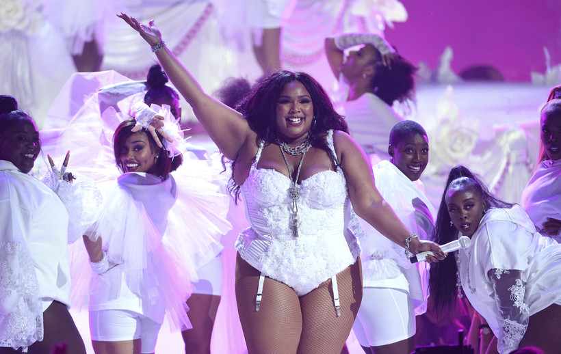"Lizzo performs ""Truth Hurts"" at the BET Awards"
