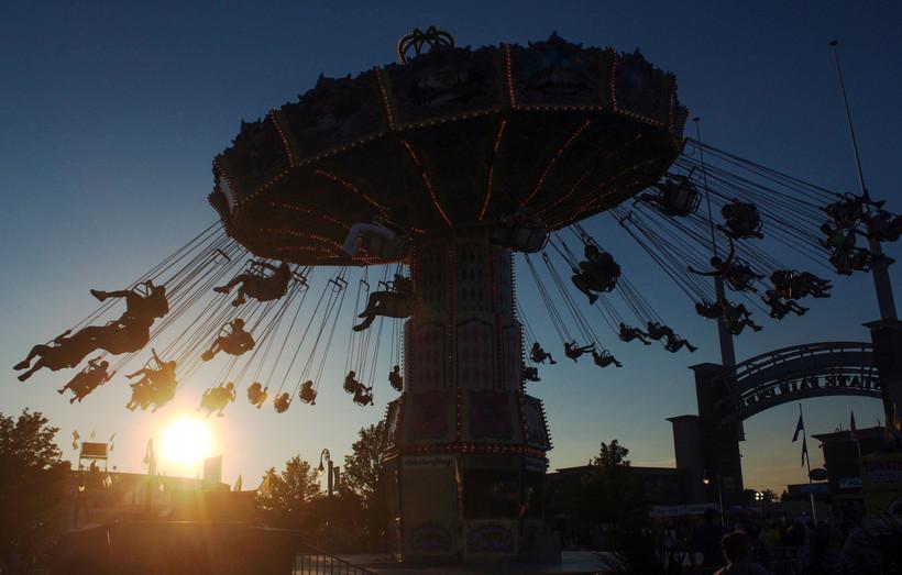 Wisconsin State Fair swings