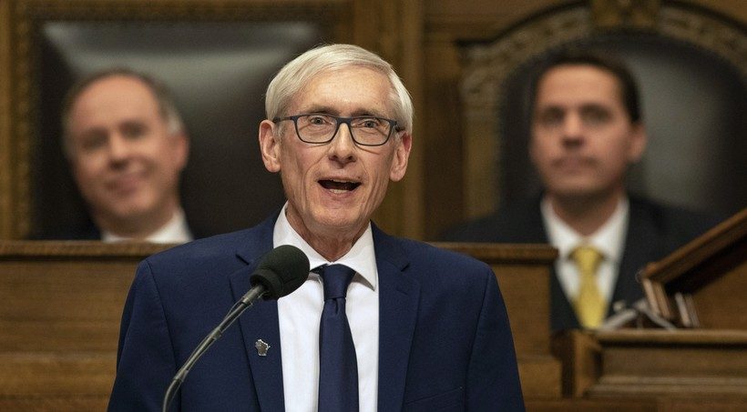 Evers speaking