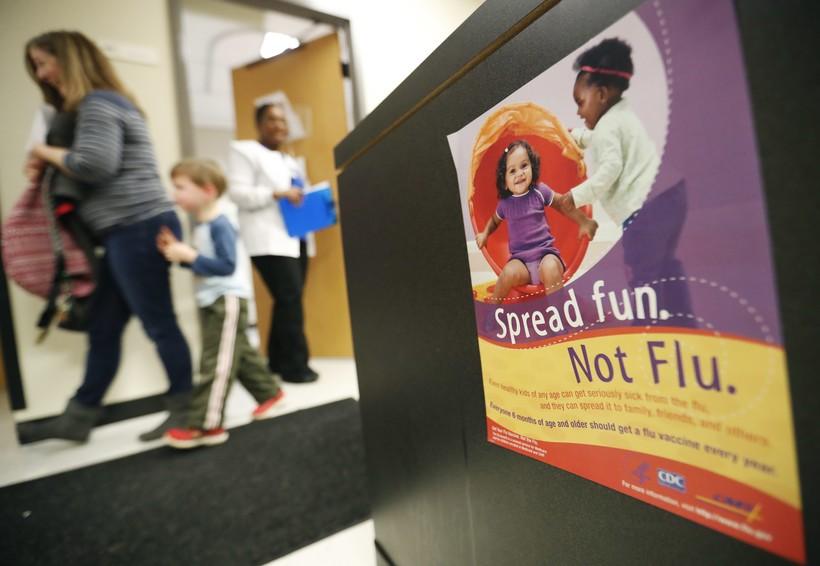 Flu prevention poster