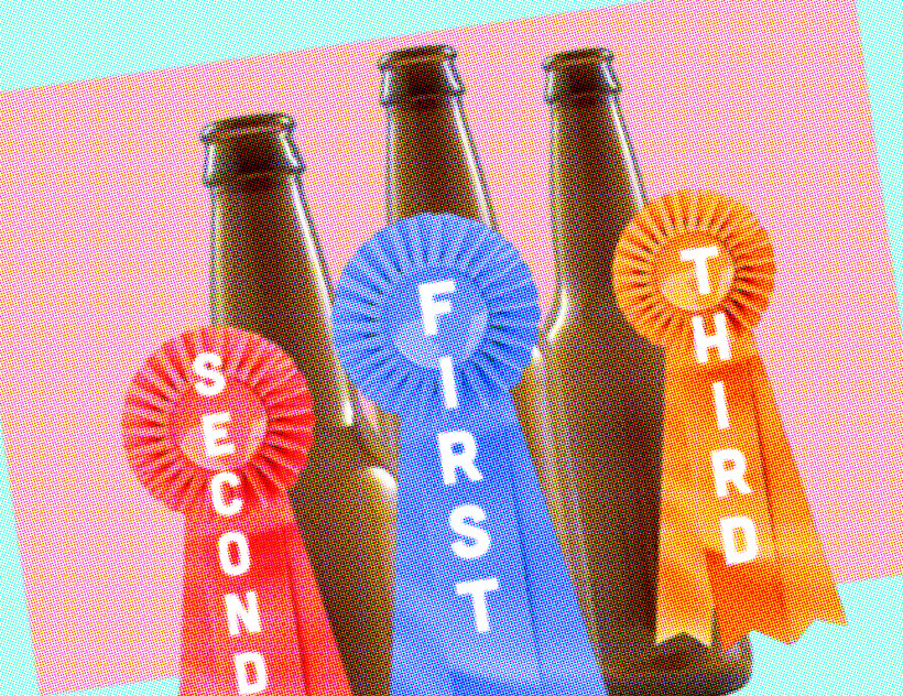 Beer contest graphic