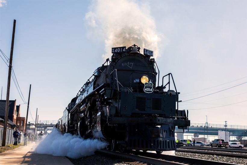 Big Boy, Union Pacific, train, engine, locomotive, historic