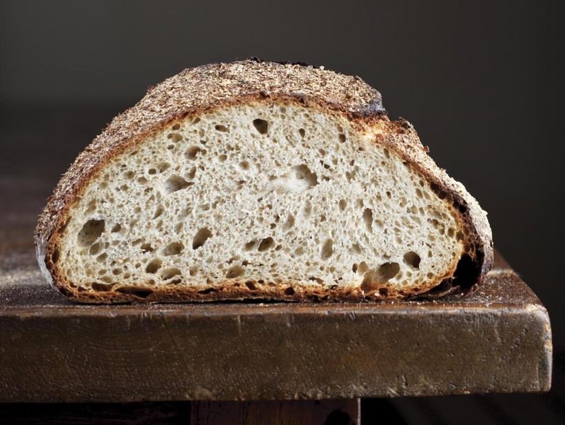 Bran-Encrusted Levain Bread