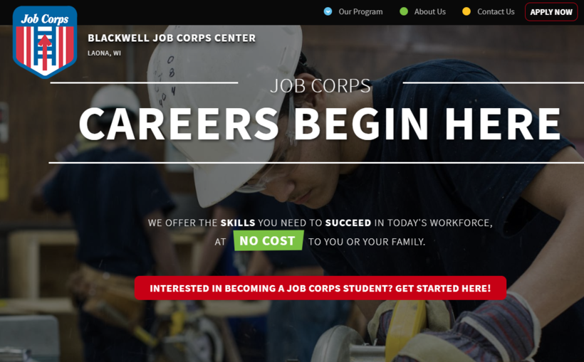 Blackwell Job Corps Center