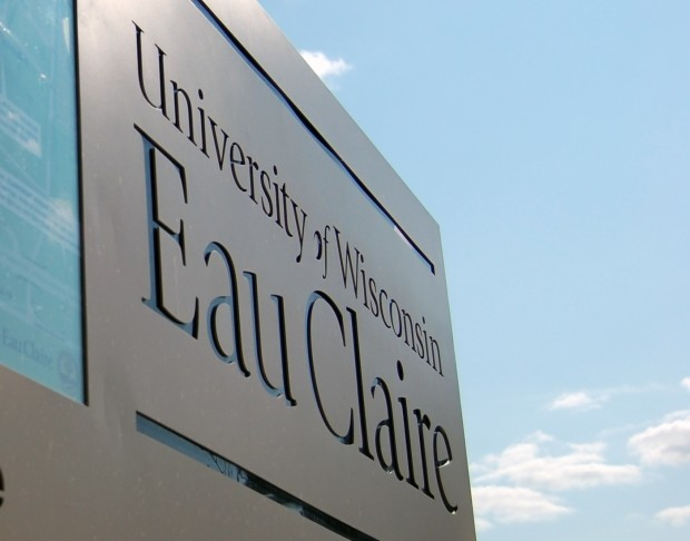 UW-Eau Claire sign.