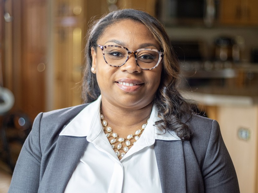 U.S. Senate candidate Chantia Lewis