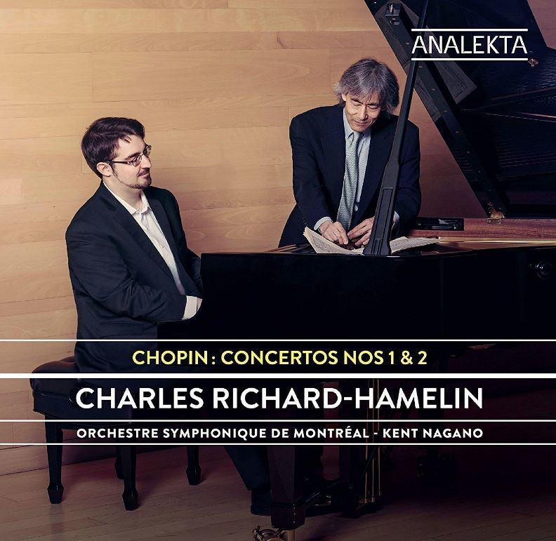 Album Cover for Chopin Concertos 1 & 2