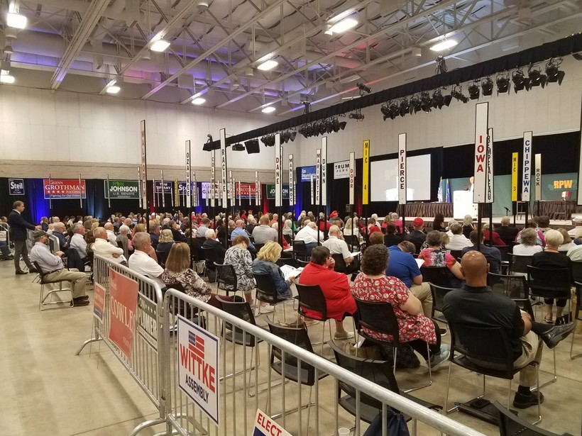 Hundreds of GOP activists gathered for the annual Republican Party of Wisconsin Convention in Green Bay, WI