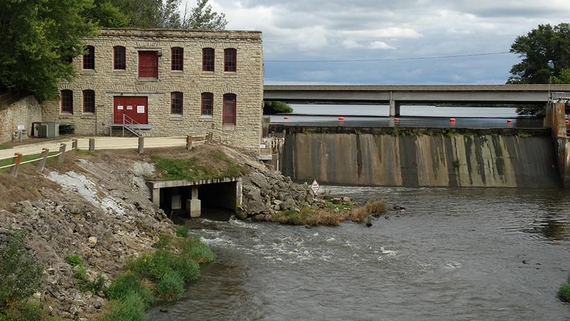 West Salem, mill, La Crosse River, Highway 16, Eric Paulsen