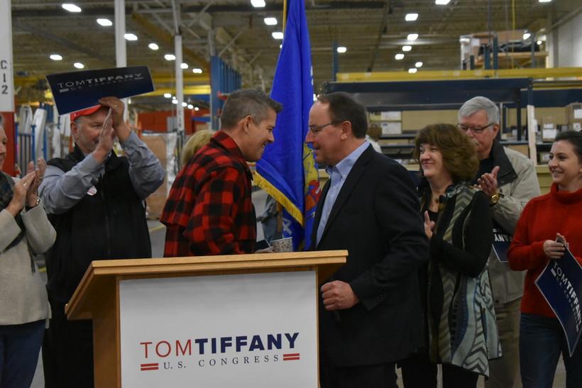 Sean Duffy endorses Tom Tiffany