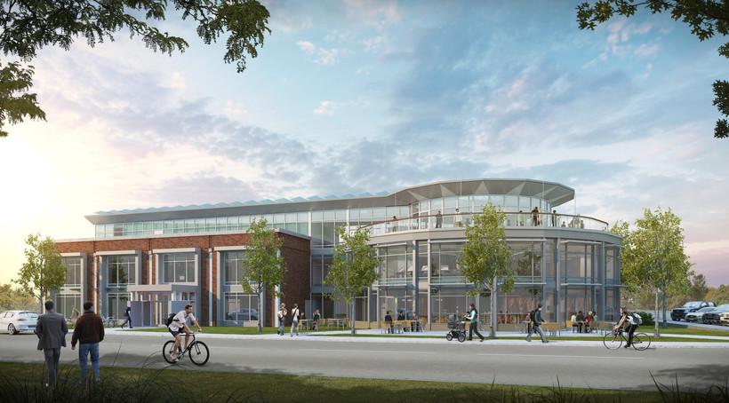 Artist's rendering of Tribune Building Project in Wisconsin Rapids