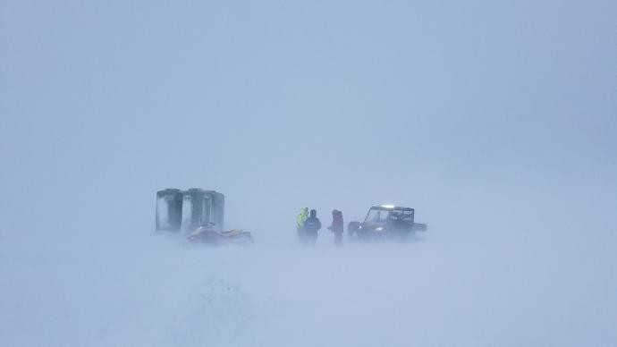 Bay of Green Bay ice rescue