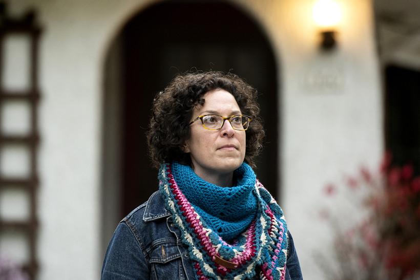 Harper Marten is seen at her home in Wauwatosa.
