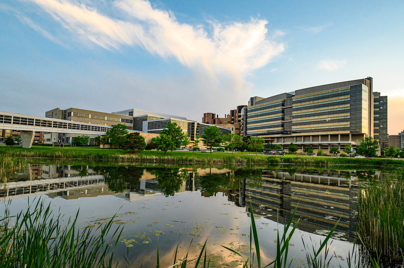 File photo of the Health Sciences Learning Center and the Wisconsin Institutes for Medical Research