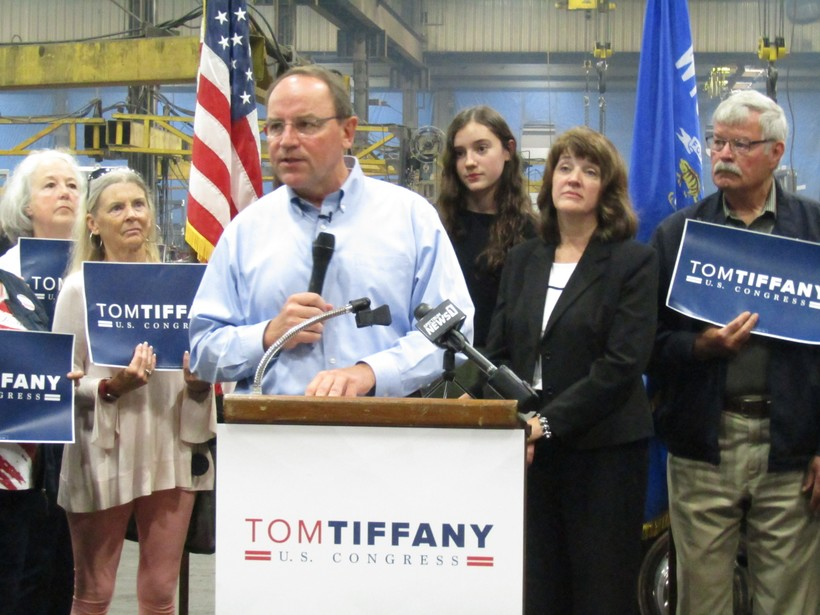 Tom Tiffany announces run for Congress