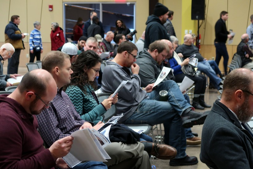 Public hearing on Husky Energy refinery explosion and fires