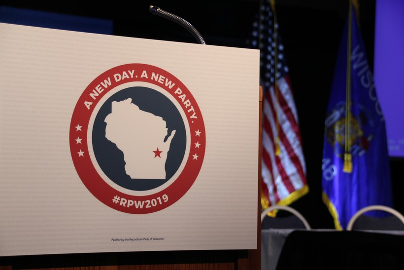 2019 Wisconsin Republican Party Convention Stage