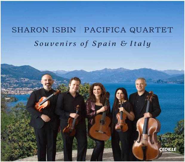 Sharon Isbin and the Pacifica Quartet