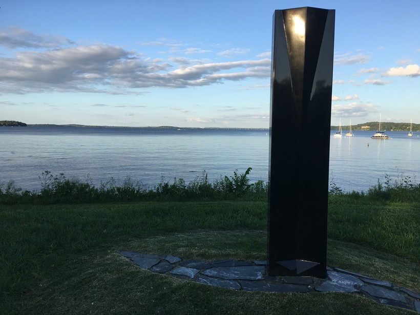 An obelisk in Madison's Marshall Park honors Mildred Fish Harnack, a Wisconsin native who joined the resistance in Berlin against the Nazis during World War II