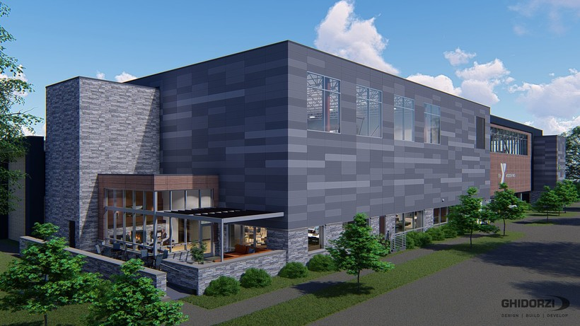 Rendering of Woodson YMCA expansion