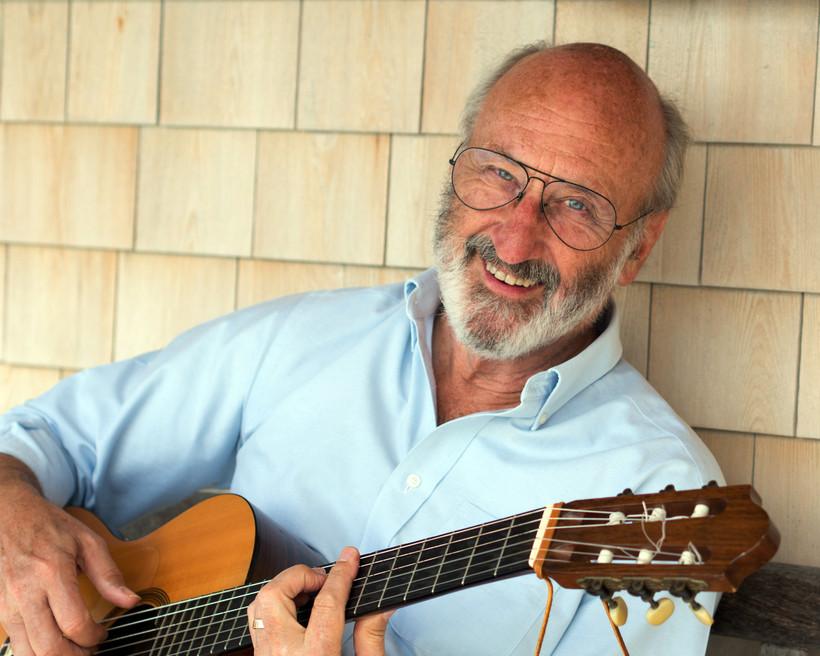 Noel Paul Stookey with guitar