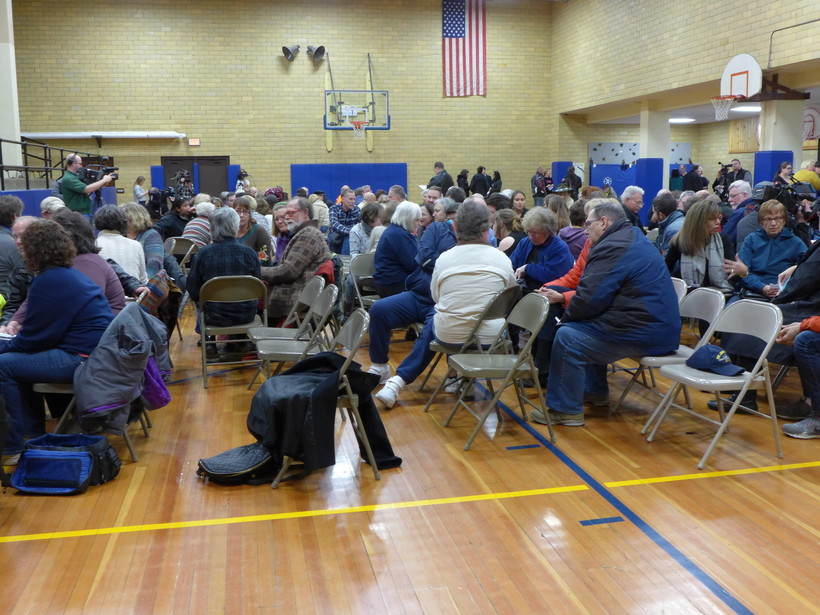 Baraboo School District meeting, November 2018