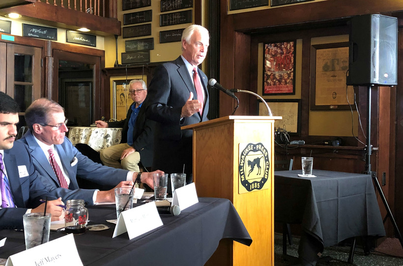 Ron Johnson, Milwaukee Press Club, May 2019